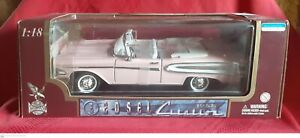 Pink 1958 Edsel Citation Convertible - Road Legends 1:18 Die Cast Metal