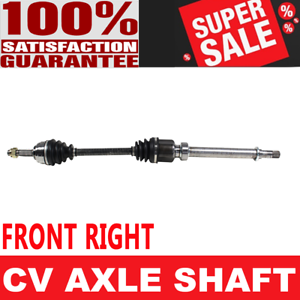 Right Front GSP NCV53910 CV Axle Shaft Assembly Passenger Side