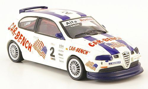 Alfa Romeo 147 Gta Cup Pergusa 2003 Larini 1  43 Fabbri vit Weiss vit lu
