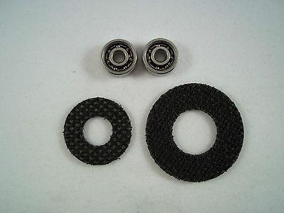 HP Reel Bearings ABEC 7 Ceramic Hybrid Carbon Drag Super Tune Kit Shimano Curado