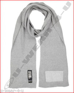 Black Grey Blue Designer Herren-accessoires Schals & Tücher Mens Boys Crosshatch Dark Series Knitted Winter Scarf