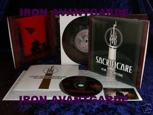 VON-THRONSTAHL-SACRIFICARE-CD-EP-Vinyledition-RAR-Der-Blutharsch-Triarii