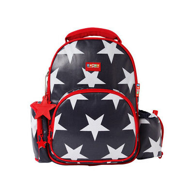 NEW Penny Scallan Medium Backpack Navy Star