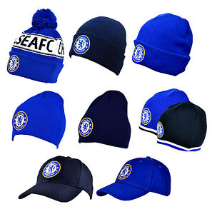 a7a0a2fd0b0 Image is loading Official-CHELSEA-FC-HATS-Beanie-Knitted-Wooly-Caps-