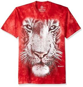 Big Face Tiger Sizes S-5XL NEW Emergence T-Shirt by The Mountain