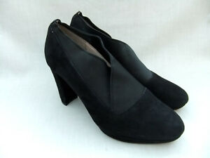 NEW CLARKS KENDRA MIX WOMENS BLACK SUEDE PLATFORM SHOES SIZE 7.5 ... 69ea43805