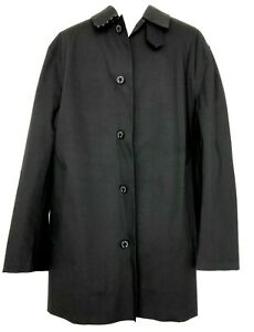 NEW-MACKINTOSH-MEN-039-S-BLACK-RAIN-COAT-JACKET-44-1095