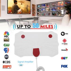 VHF-UHF-1080p-Amplificador-de-senal-50millas-gama-La-TV-digital-Antena-de-TV