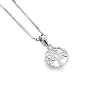 Zielsetzung Tree Of Life Sterling Silver Necklace 925 Hallmark All Chain Lengths