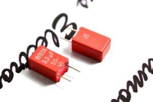 4pcs-WIMA-MKS2-3-3uF-3-3-F-50V-10-pitch-5mm-Capacitor