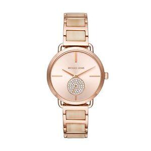 d5f9a88994dac Michael Kors Women MK3678 Portia Rose Gold-tone Stainless Steel Watch 36mm