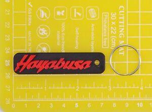 Suzuki-Hayabusa-plastic-keyring-Keychain-Porte-Cles-keyholder-motorcycle