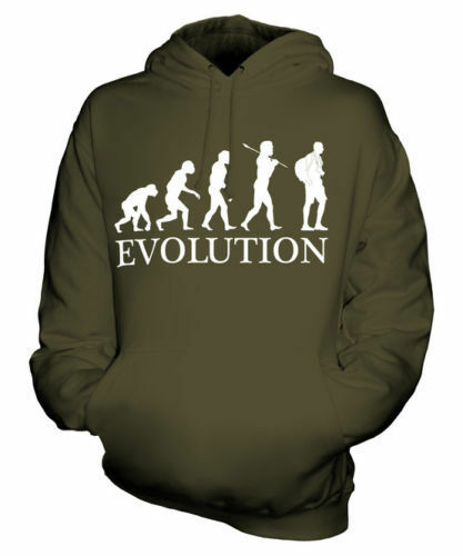 TOURIST EVOLUTION OF MAN UNISEX HOODIE  Herren Damenschuhe LADIES GIFT CAMERA