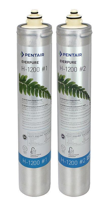 Everpure H1200 Filter Cartridge Set   EV9282-03 NEW