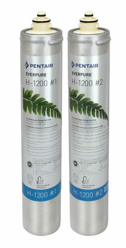 Everpure H1200 Filter Cartridge Set # EV9282-03 NEW!