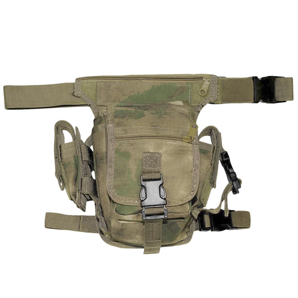MFH Hip Bag Army Style Combat Patrol Trekking Hunting Airsoft Travel HDT Camo FG
