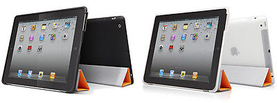Cygnett SmartSound TPU Case Cover with Sound Scoop for iPad 4/3/2 (Black)