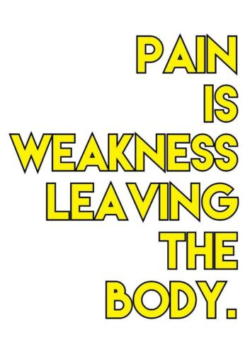 motivational inspirational positive gym fitness quote poster picture typography