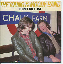 YOUNG & MOODY BAND (Don't Do That / How Can I Help You)  ROCK  45 RPM  RECORD