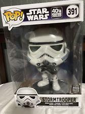 "Stormtrooper 2020 Galactic Convention Funko Pop 10"" Pop Star Wars #391 Uk Exc"