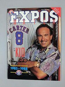 GARY-CARTER-MONTREAL-EXPOS-AUTOGRAPHED-PROGRAM-1993-SEASON