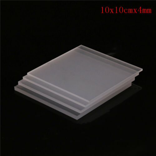 Clear Acrylic Perspex Sheet Cut To Size Plastic Panel DIY 2-5mmGK