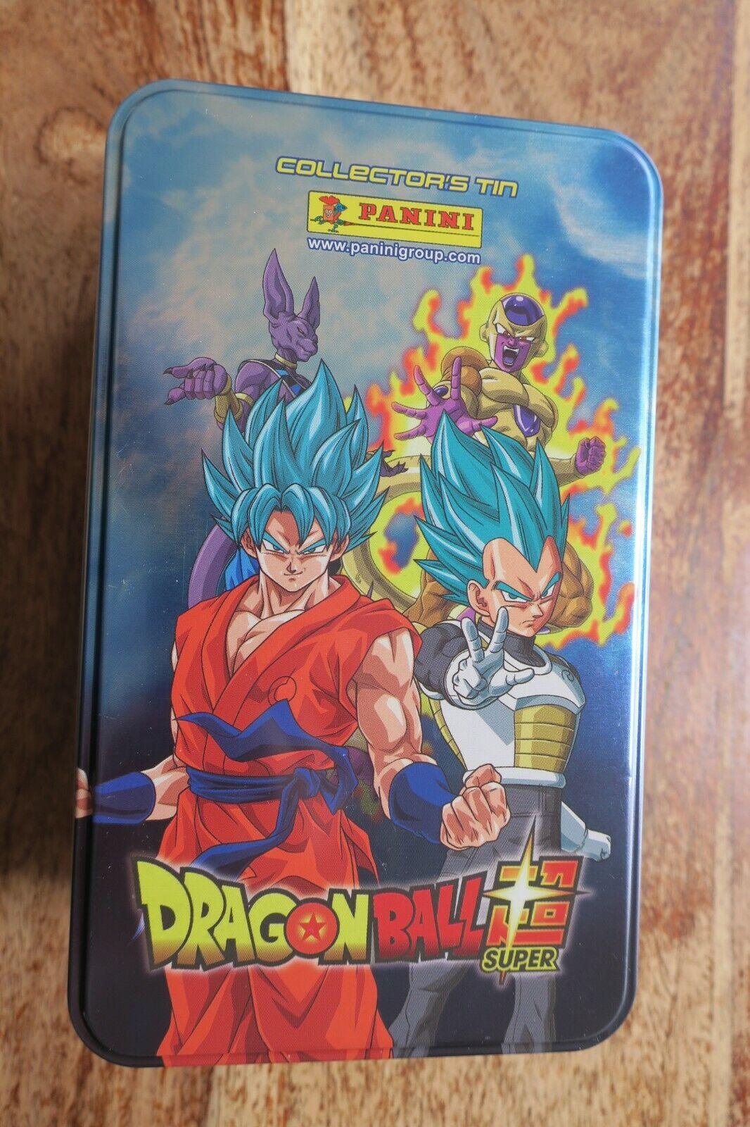 Dragon Ball Super - COLLECTOR'S Tin Panini Adesivi Scatola in in in Metallo b68ae1