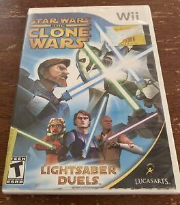 Star Wars: The Clone Wars - Lightsaber Duels Nintendo Wii