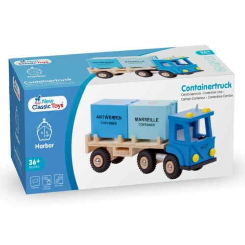 10910 LKW mit 2 Containern Eitech GmbH New Classic Toys Harbor Line