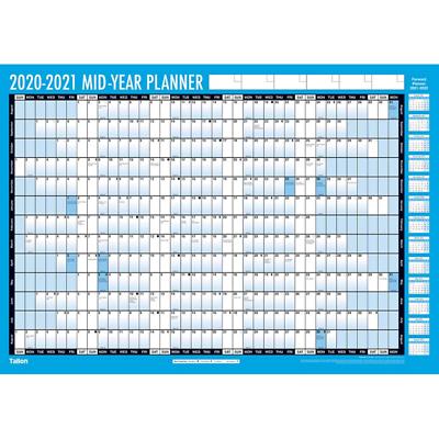 Académico Estudiante 2020-2021 Pared Planificador Calendario Pluma Y Pegatinas