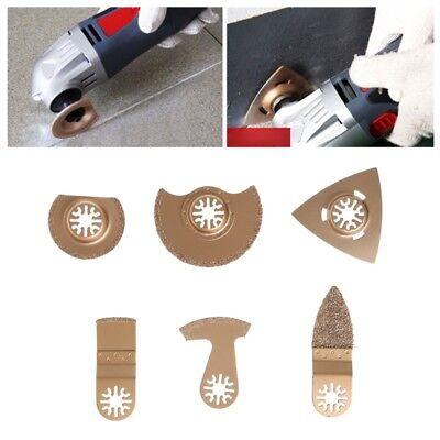 Oscillating Multi Tools Saw Blades Grinding Diamond Carbides For Tiles Concrete