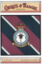 ROYAL AIR FORCE ( RAF ) 13 ( XIII ) SQUADRON POSTCARD ( CRESTS & BADGES SERIES )