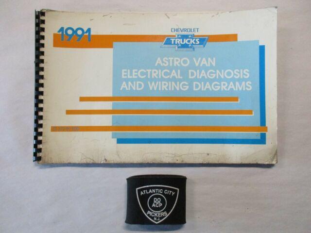 1991 Chevrolet Astro M  L Van Models Electrical Diagnosis
