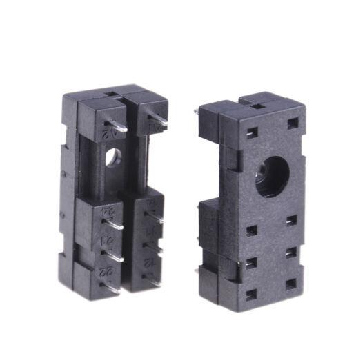 5Pcs PCB Plug-in Type G2R-2 8 Pin Relay Sockets BasesZ6