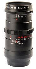 Meyer Optik Gorlitz TeleMegor red V 5.5/180mm f/5.5 5.5 180mm mount M42 M-42