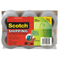 Scotch Sure Start Refill Rolls For Dp1000 Easy Grip Tape Dispenser 1.88 X 900 on sale