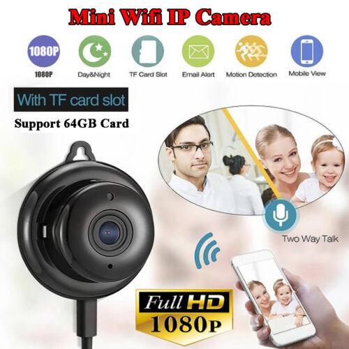 1080P Wireless Mini WIFI IP Camera HD Smart Home Security Camera Night Vision