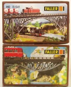 FALLER-B-531-B-541-OO-HO-KIT-STEEL-GIRDER-BRIDGES