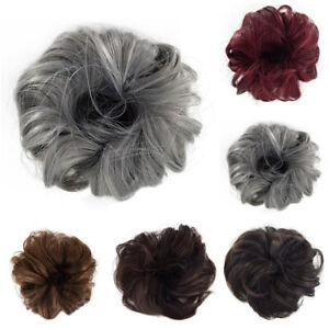 Curly-Messy-Bun-Hair-Piece-Scrunchie-Updo-Cover-Hair-Extensions-Real-as-human