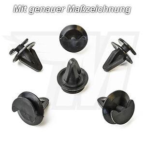 10x-COFFRE-clips-de-finition-securisation-Support-pour-BMW-51410151699