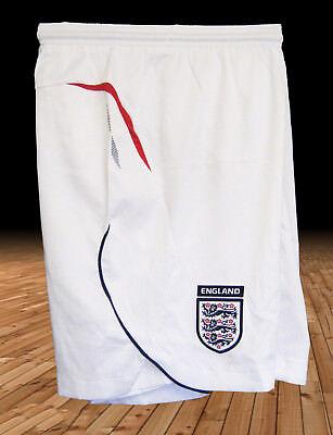 New UMBRO ENGLAND Football Shorts White Youth Boys Girls XL Age 13 15 Yrs 2372298332353   eBay