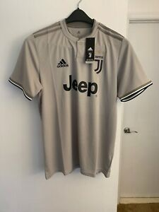 ADIDAS Mens Juventus Away Shirt 18-19 Domestic Short Sleeve Round ...