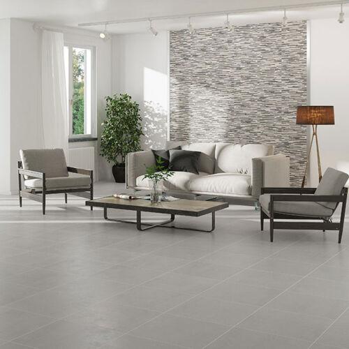 10x10cm Sample of 31.6x31.6 Monotech Gris Wall /& Floor Tile