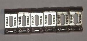 Fender® American Standard Stratocaster® Bridge Saddles~USA~0075123049~Brand New