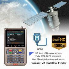 Freesat 3.5 Inch LCD FTA Signal Pointer Digital Satellite Meter V8 Finder OZ BT