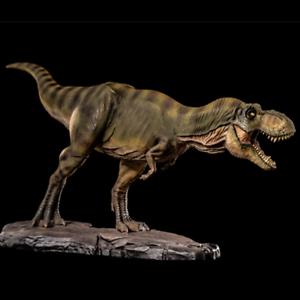 T Rex 2018 Estatua Figura Dinosaurio Tiranosaurio Modelo Juguete Decoración de coleccionista de base
