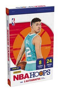 2020-2021 Panini NBA Hoops Basketball Hobby Pack (1 Pack) Look For Wiseman Ball