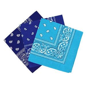 Set-de-3-bandanas-Paisley-Homme-et-Femme-57-x-57-cm-Bleu-royal-bleu-ciel-bl-O9P8