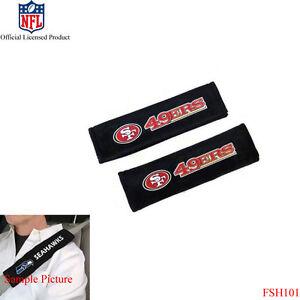 d7087702532 New NFL San Francisco 49ers Car Truck Suv Van Seat Belt Shoulder ...
