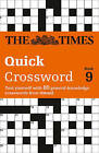 The Times Quick Crossword: 80 General Knowledge Puzzles from the Times 2: Book 9 by The Times Mind Games (Paperback, 2005)